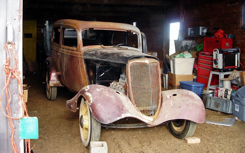 Ford Model 40 Roller