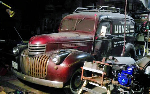 French's 1946 Panel Truck