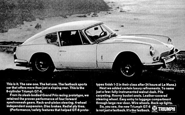GT6 Vintage ad