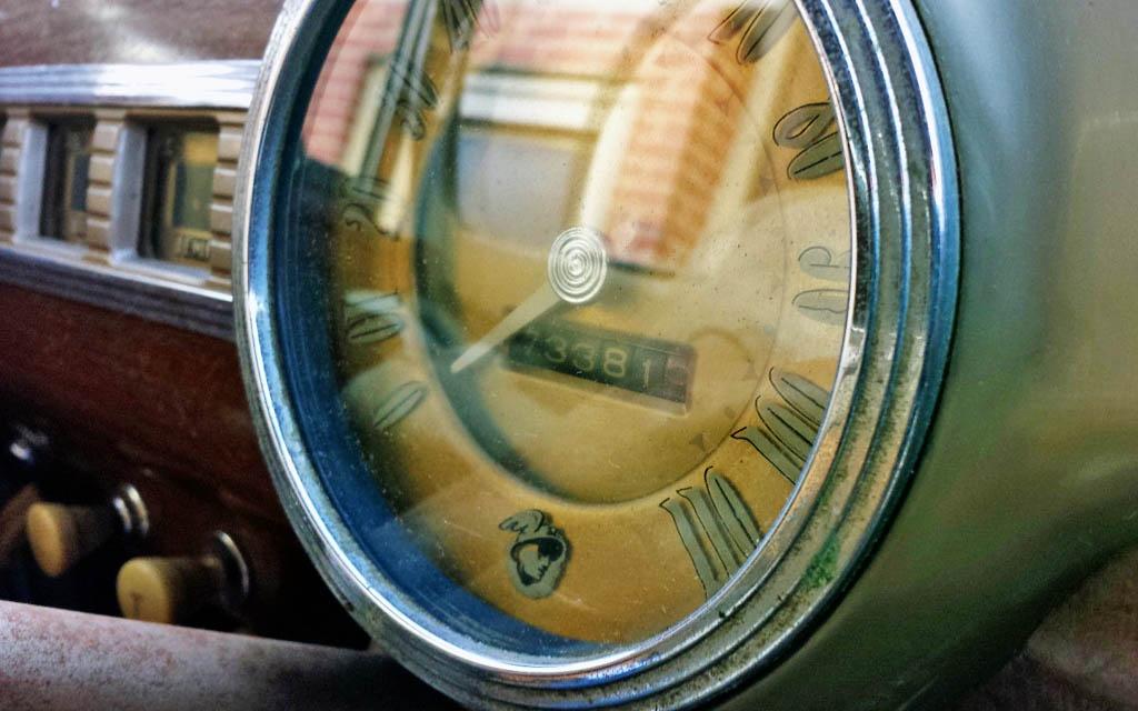 Mercury Speedometer