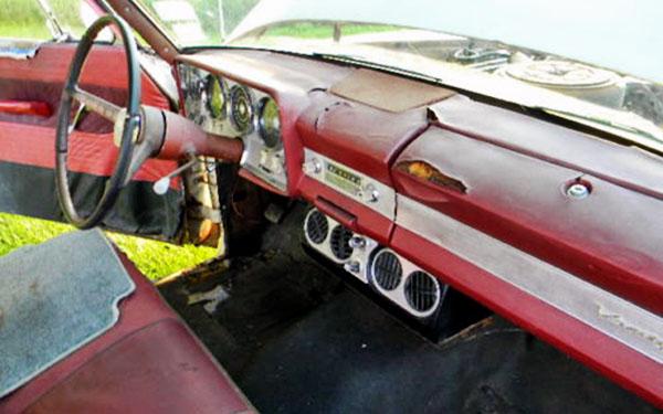 Studebaker Lark Wagon Interior