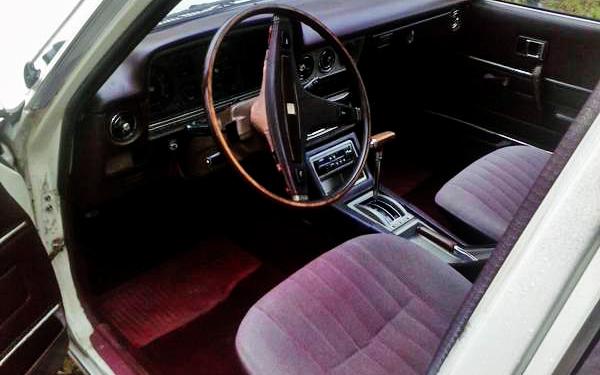 Toyota Cressida Wagon Interior