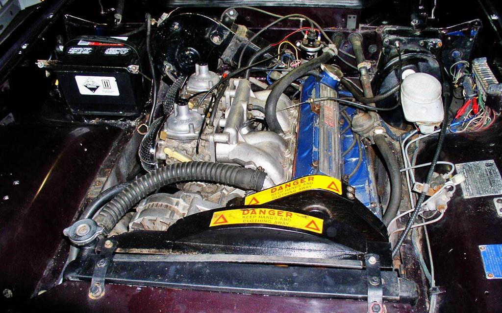 Jensen-Healey Lotus 907 Motor