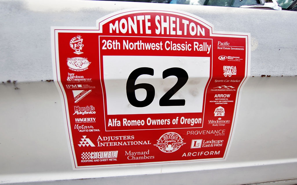 Monte Shelton Rally Sticker
