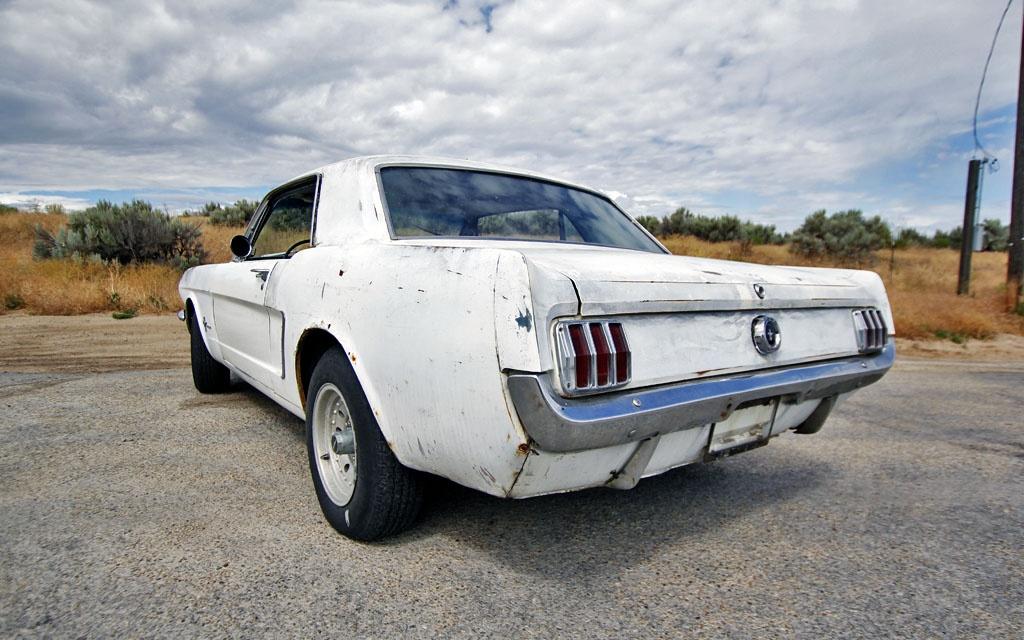 Mustang Rear Corner