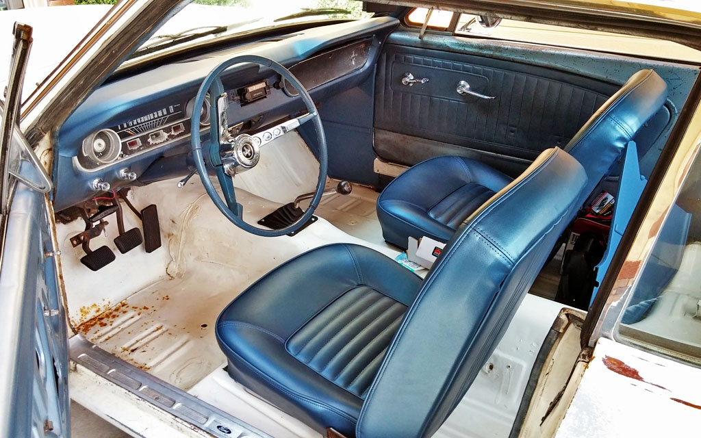 Mustang -  cleaned interior
