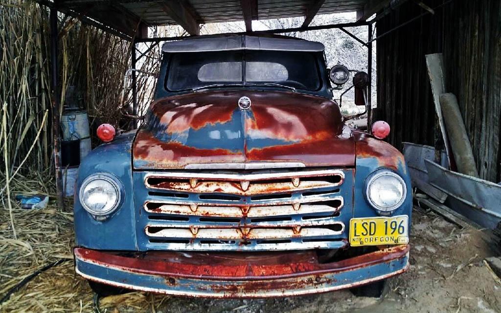 Studebaker 2R10 cleaned up