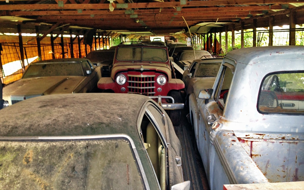 Barn Finds in NC