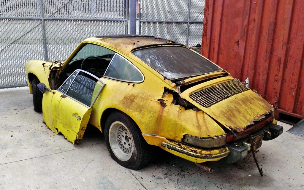 Rust Bucket Porsche 912