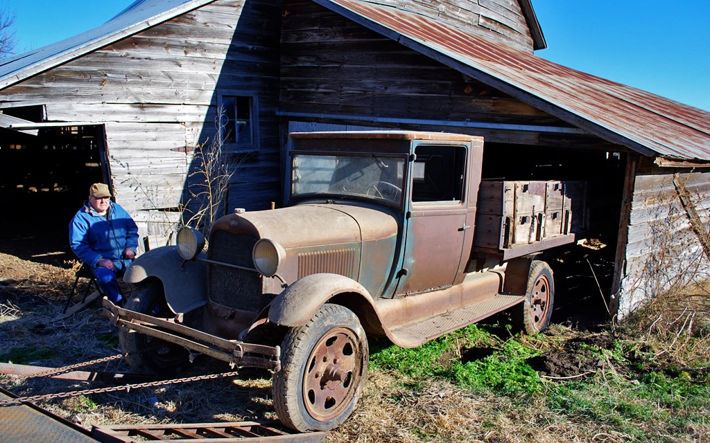 1929 Ford Model AA Truck