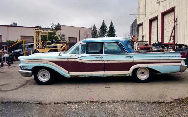 1959 Mercury Truck Wagon