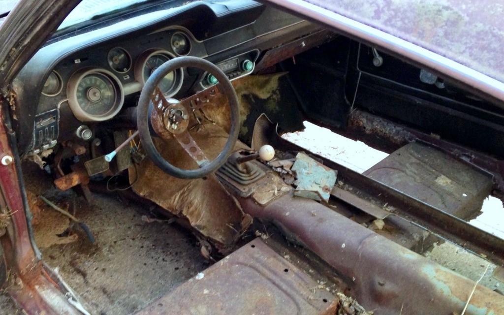 1968 Mustang GT Interior
