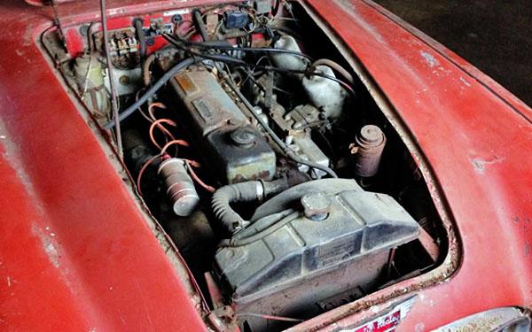 Austin-Healey 3000 Motor