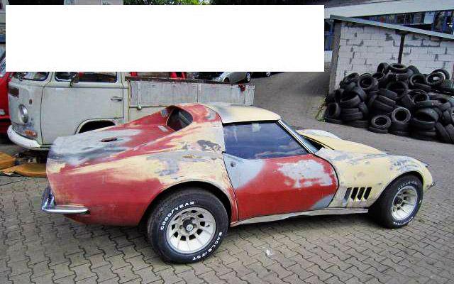 Corvette in France