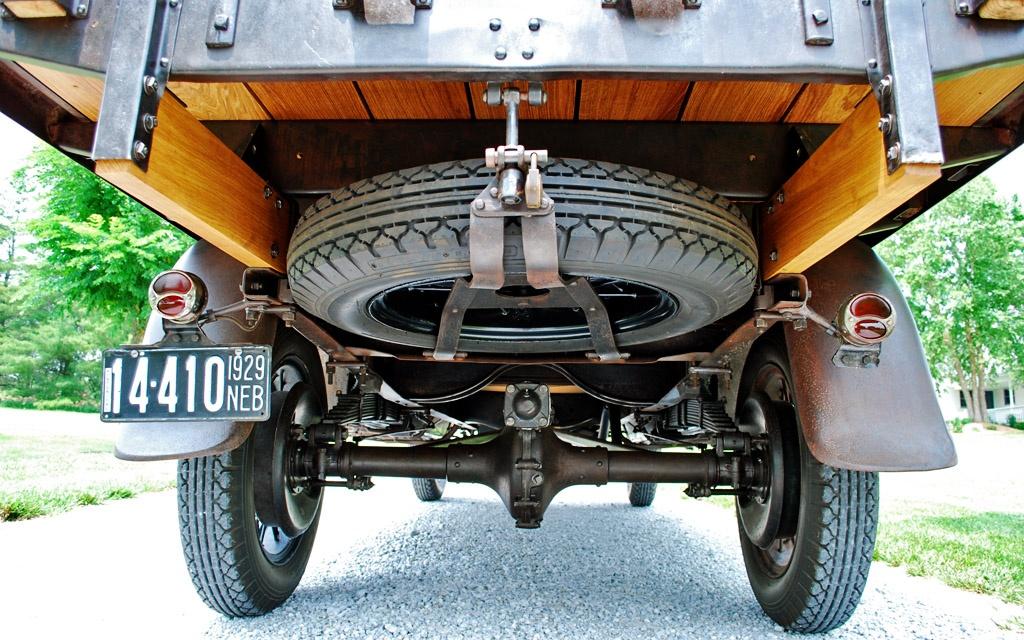Ford Model AA Underside