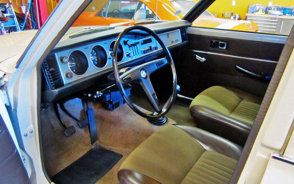Toyota Corona Interior