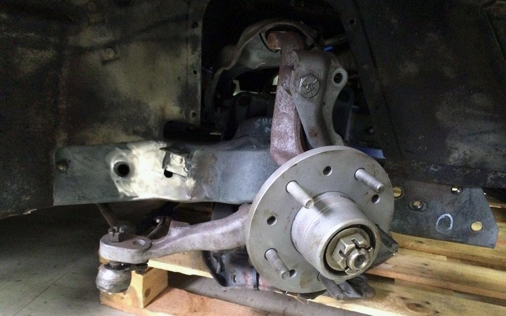 Corvette J56 Suspension