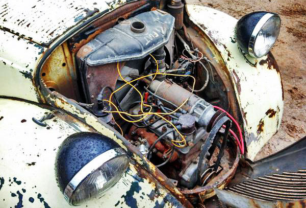 Fiat Topolino Motor