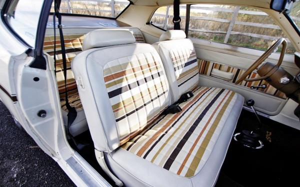 Gold Duster Interior