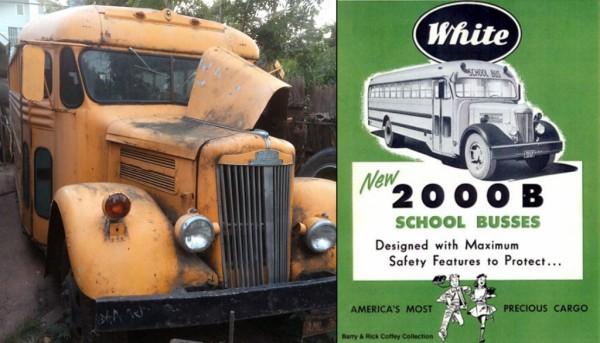 1947 White Motors 2000B