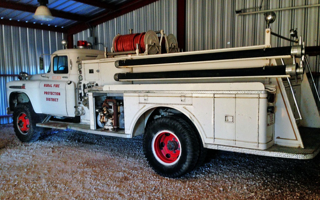 1959 Chevy Spartan Fire Engine