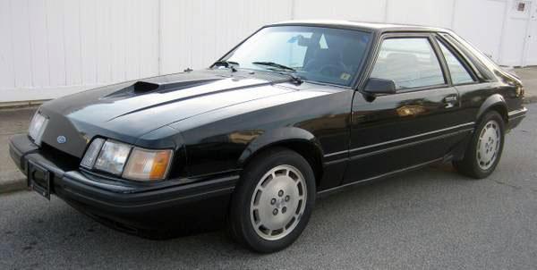 1985 Mustang SVO
