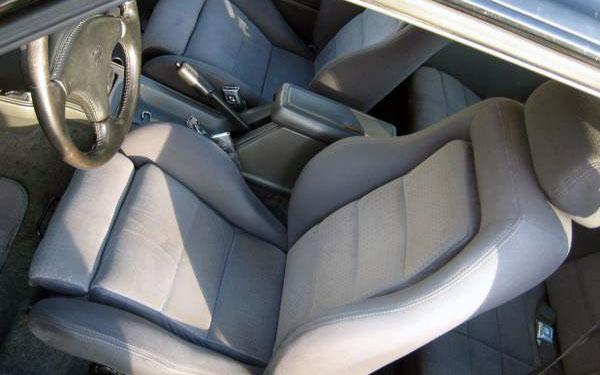 Mustang SVO Interior