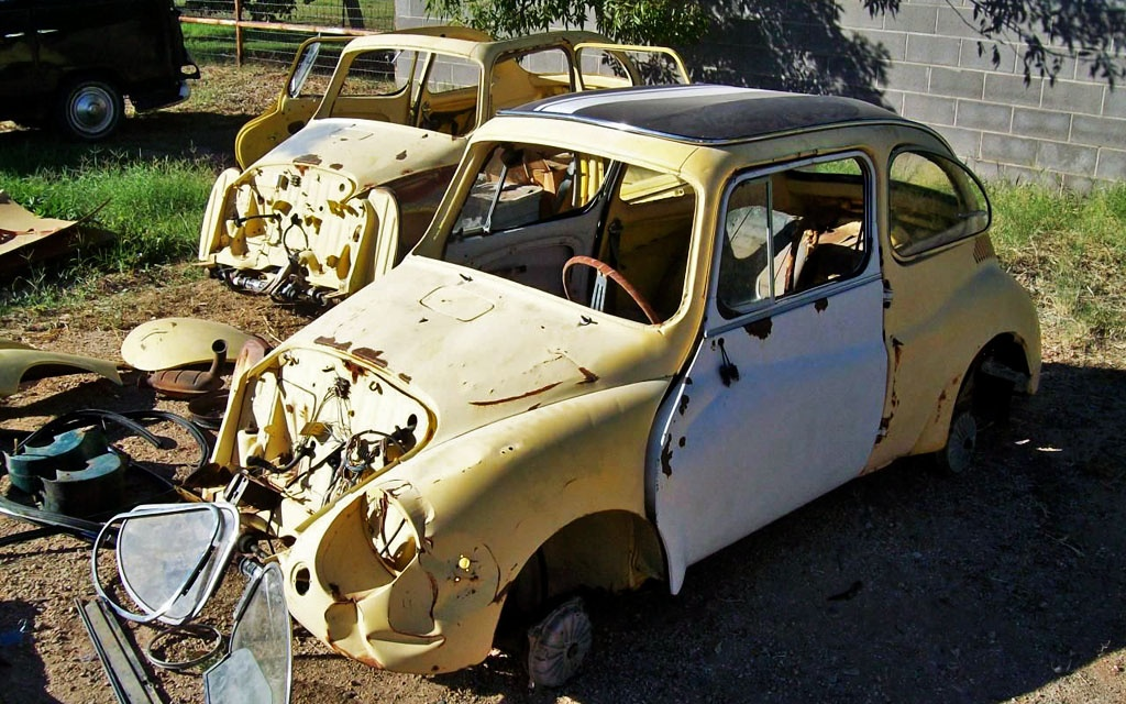 Pair of Subaru 360 Young S