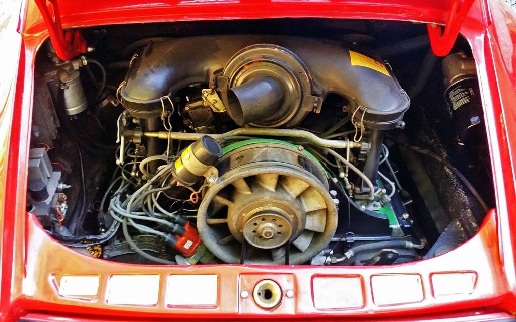 Porsche 911 Engine