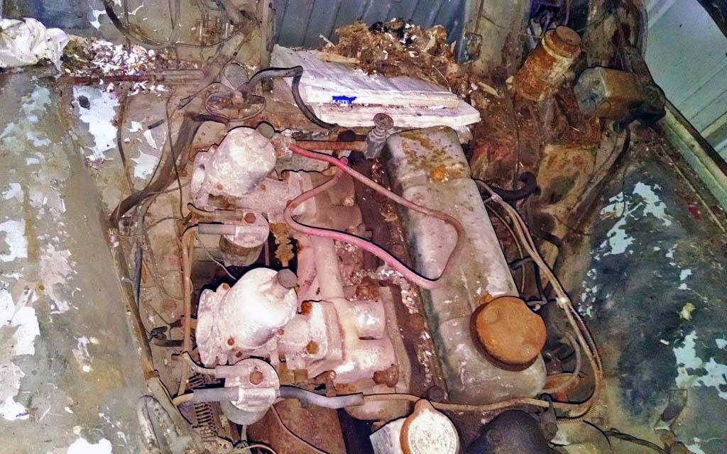 1961 TR3A Engine