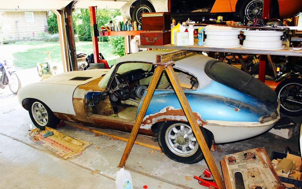 1967 Jaguar XKE Project