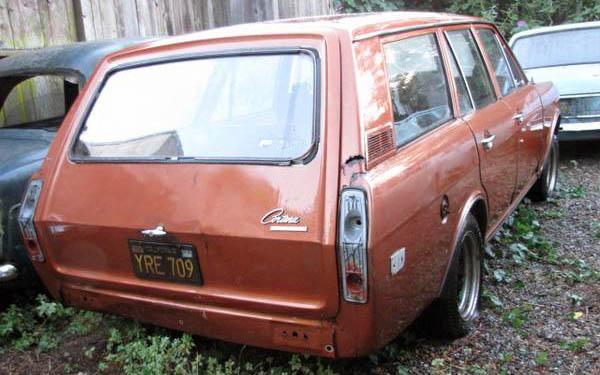 1969 Ford Cortina Wagon