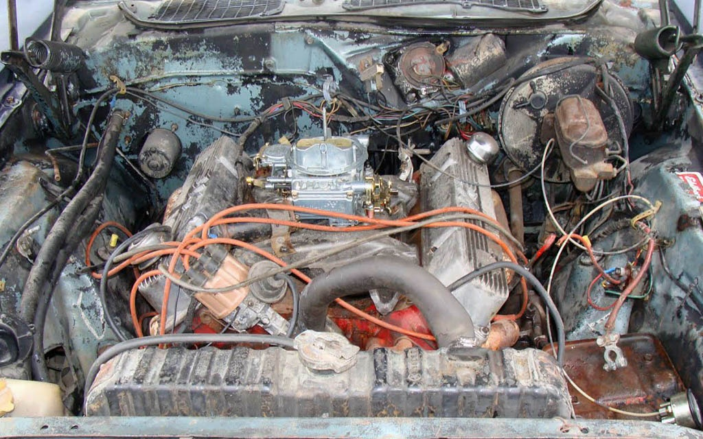 Challenger RT 383 Engine