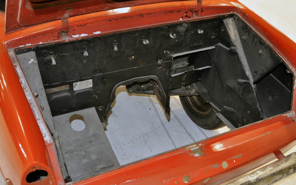 Fiat 600 Engine Bay