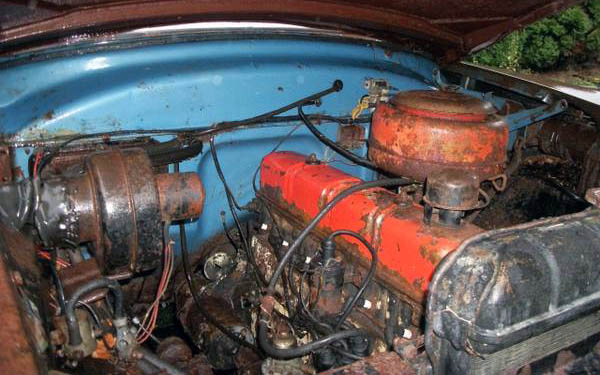 Ford Customline Engine