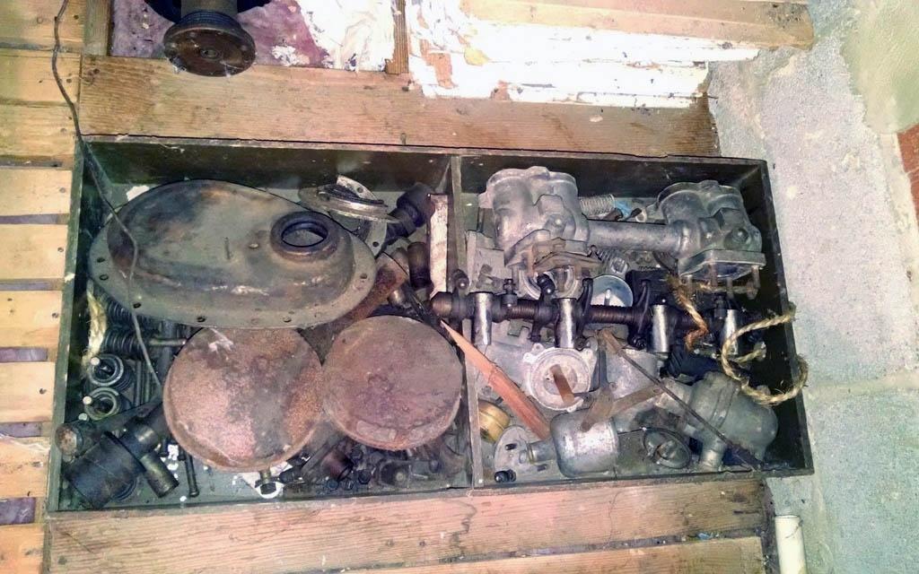 TR3A Spare Parts