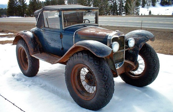 1930 Ford Model A Mail Car