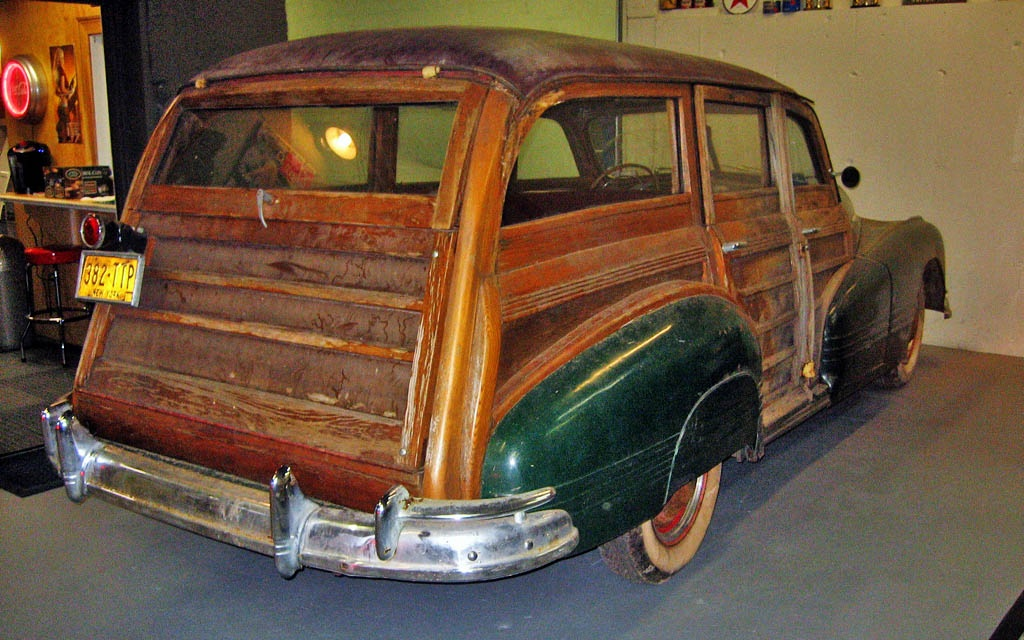1947 Pontiac Woodie Project