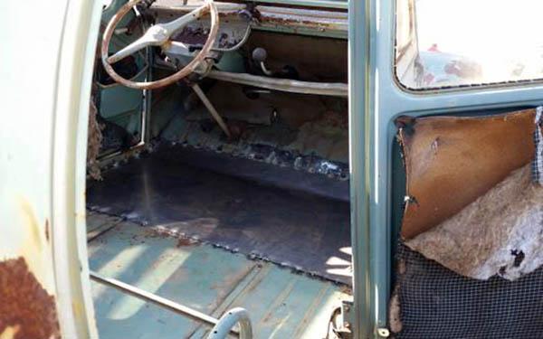 1955 Citroen 2CV Interior