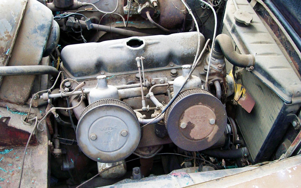 1963 Volvo P1800 Engine