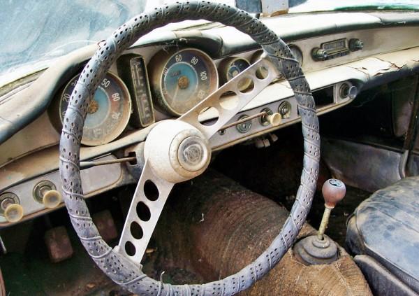 1963 Volvo P1800 Interior