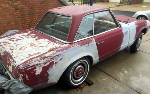 1966-mercedes-230sl-rear