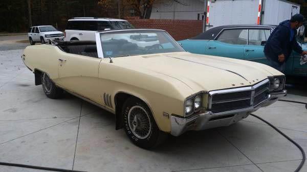 1969 Buick Skylark Convertible
