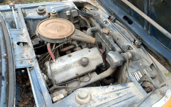 1970 BMW 2002 Engine