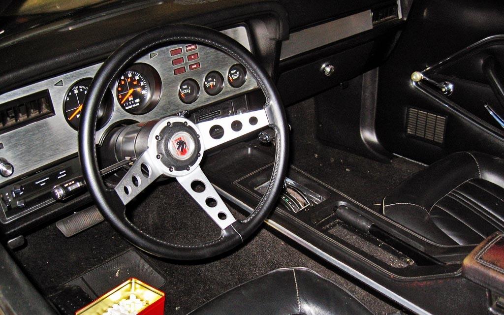 1977 Mustang Cobra II Interior
