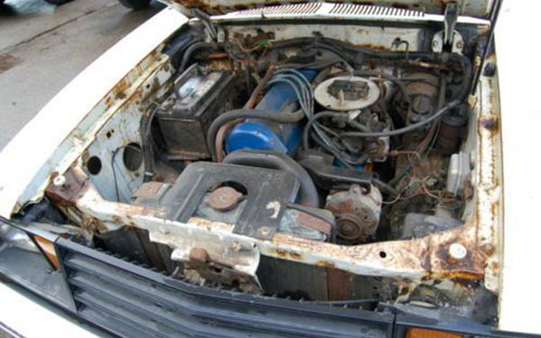 1979 Ford Cruising Wagon Motor