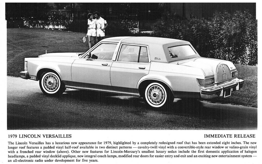 1979 Lincoln Versailles Ad