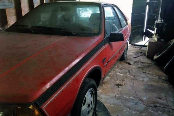 1983 Renault Fuego Turbo