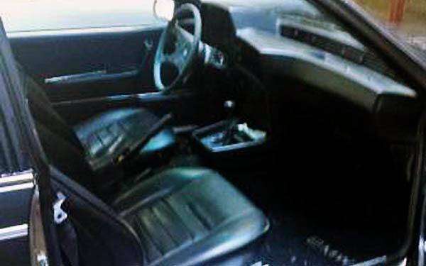 BMW 630CSI Interior