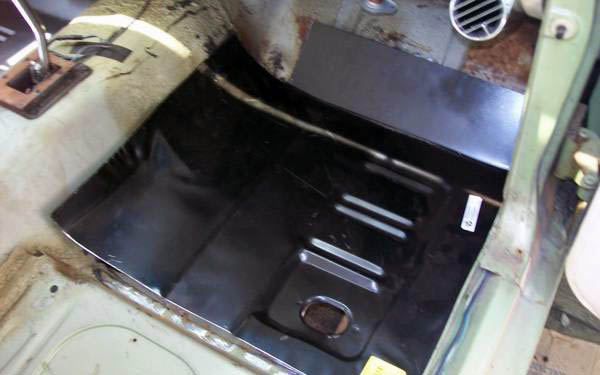 Mercury Cougar Floor